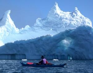 Allegy Iceberg kayak canada